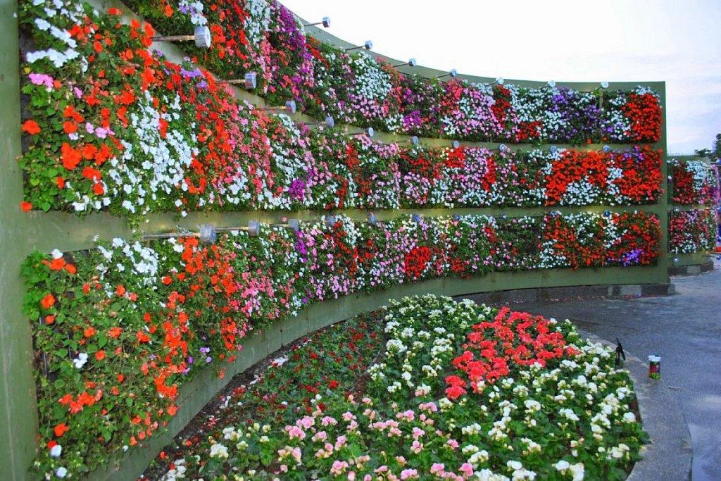 Otro ejemplo de jardín vertical